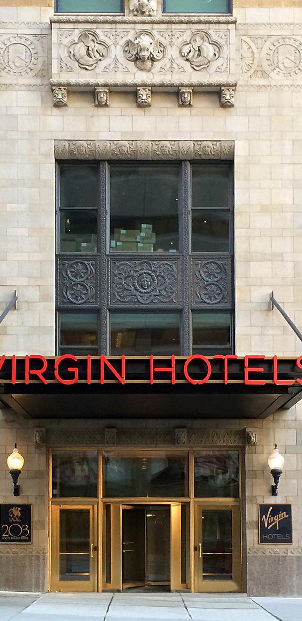 Virgin Hotels Street Marquee