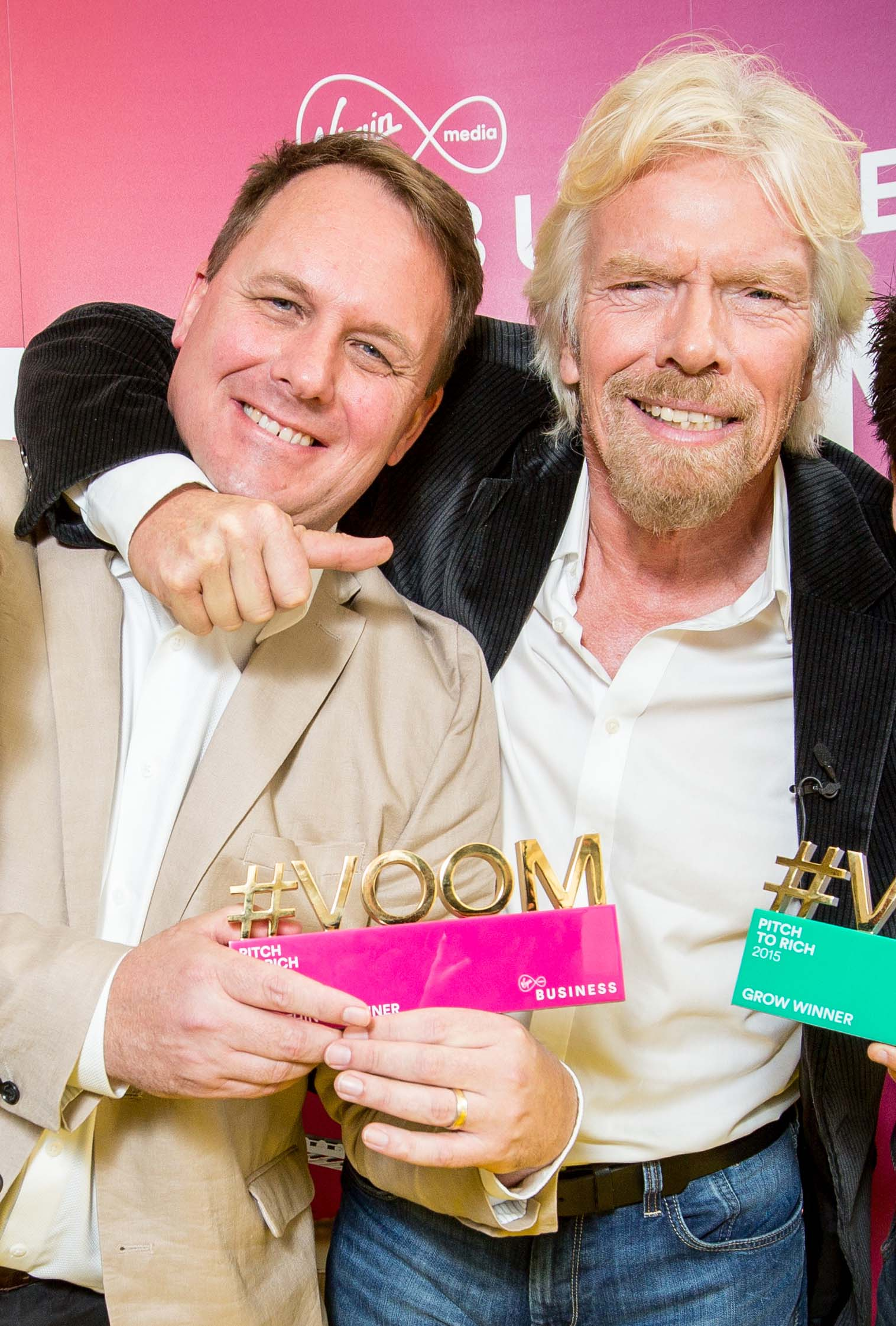 Pitch to Rich winners with Richard Branson