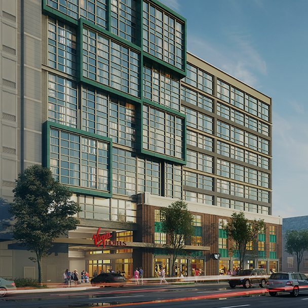Rendering of Virgin Hotels DC Union Market