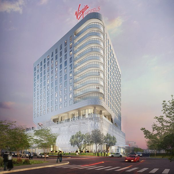 Rendering of Virgin Hotels Chicago