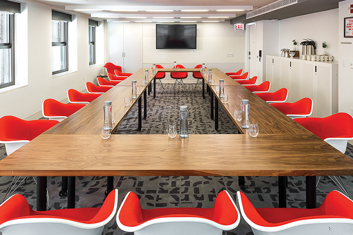Special meetings space at Virgin Hotels Chicago