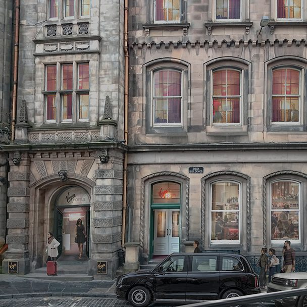 Rendering of Virgin Hotels Edinburgh
