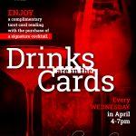 Cocktails, Cards