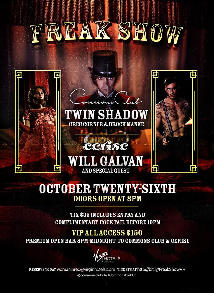 Virgin Hotels Halloween Party