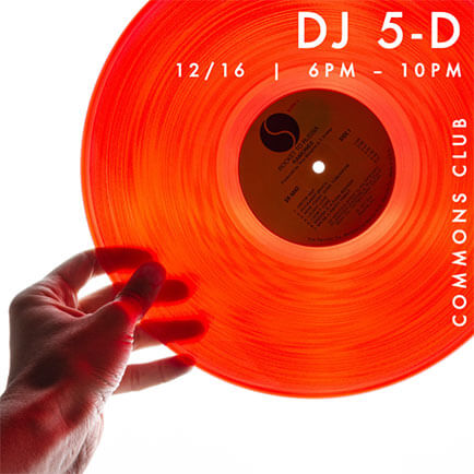 Live Dj session at Commons Club