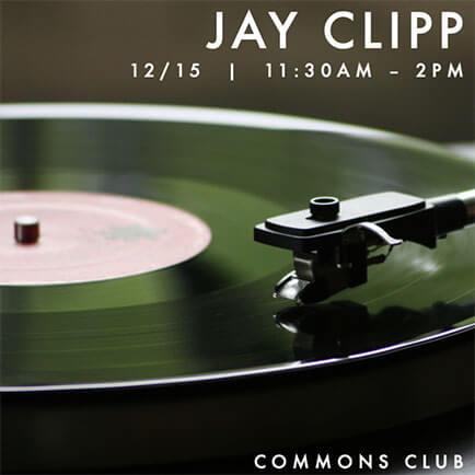 Vinyl DJ set at Commons club