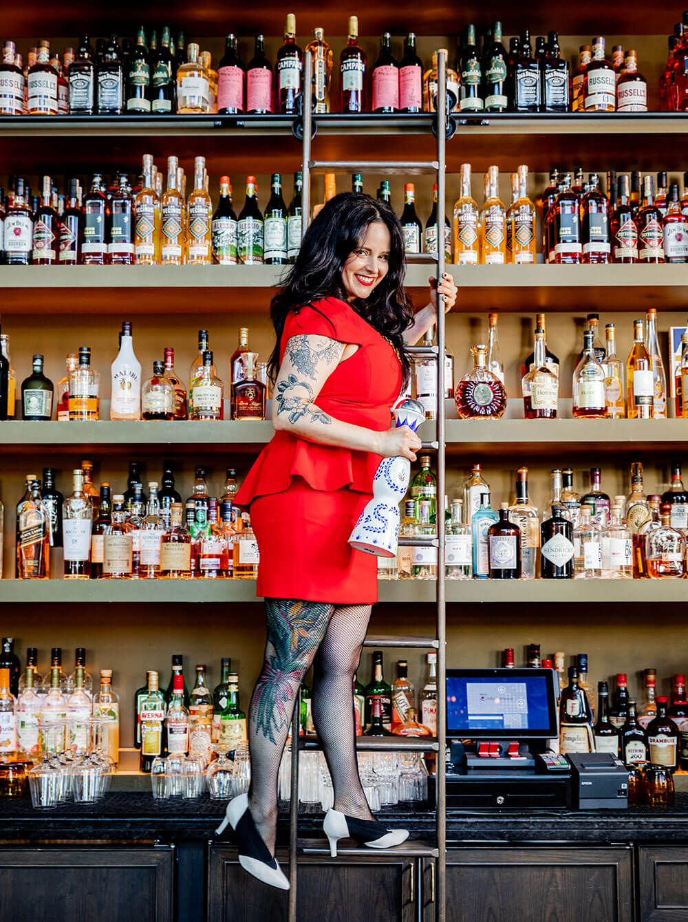 Megan our rockstar bartender