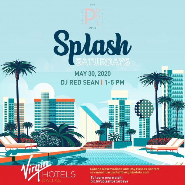 Splash Saturdays at The Pool Club