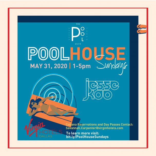 Pool House Sundays at The Pool Club Dallas