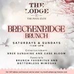 Breckenridge Brunch