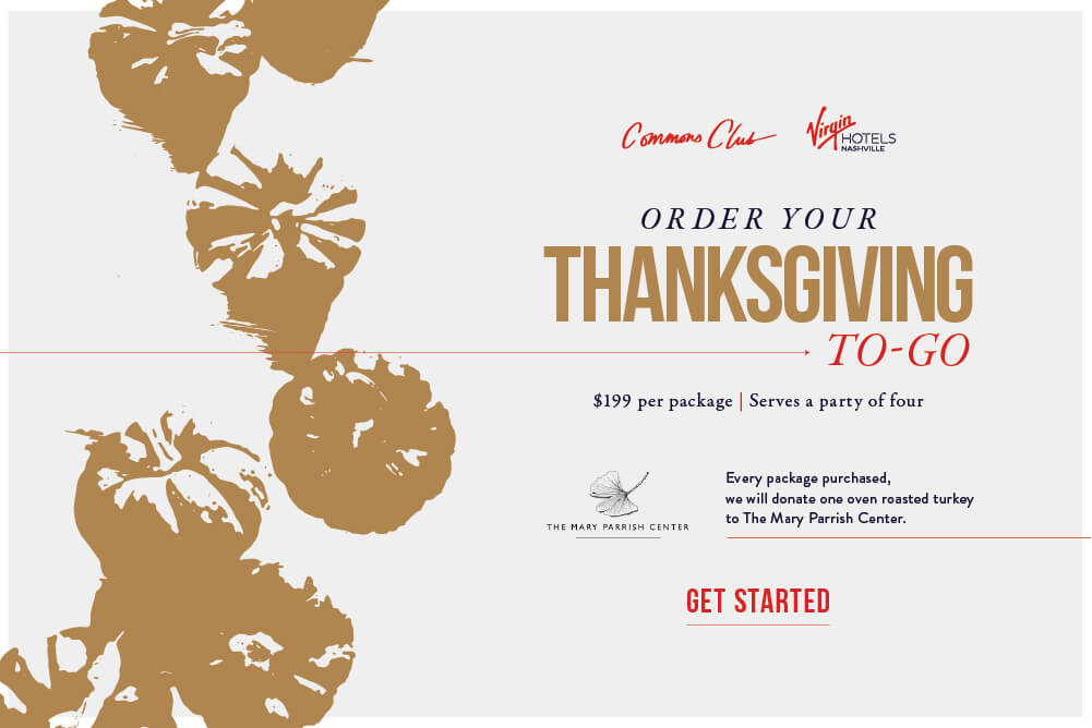 Commons Club - Thanksgiving To Go
