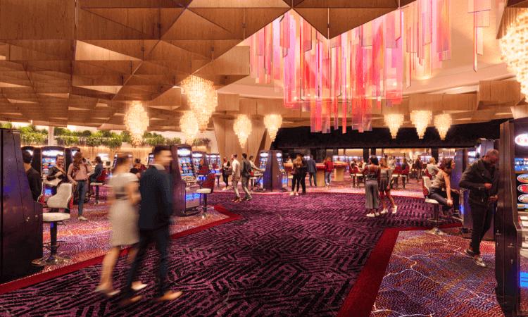 Casino lobby Vegas
