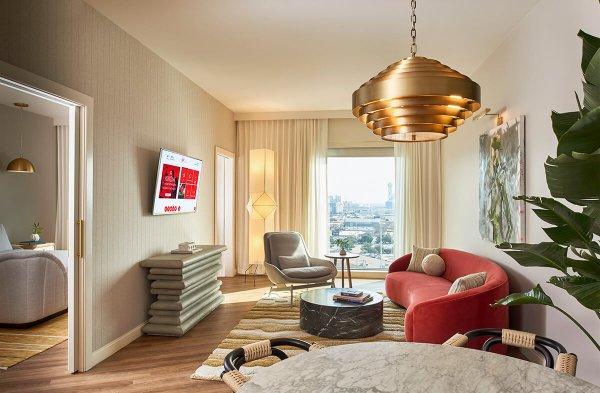 Deluxe Suite Dallas hotel