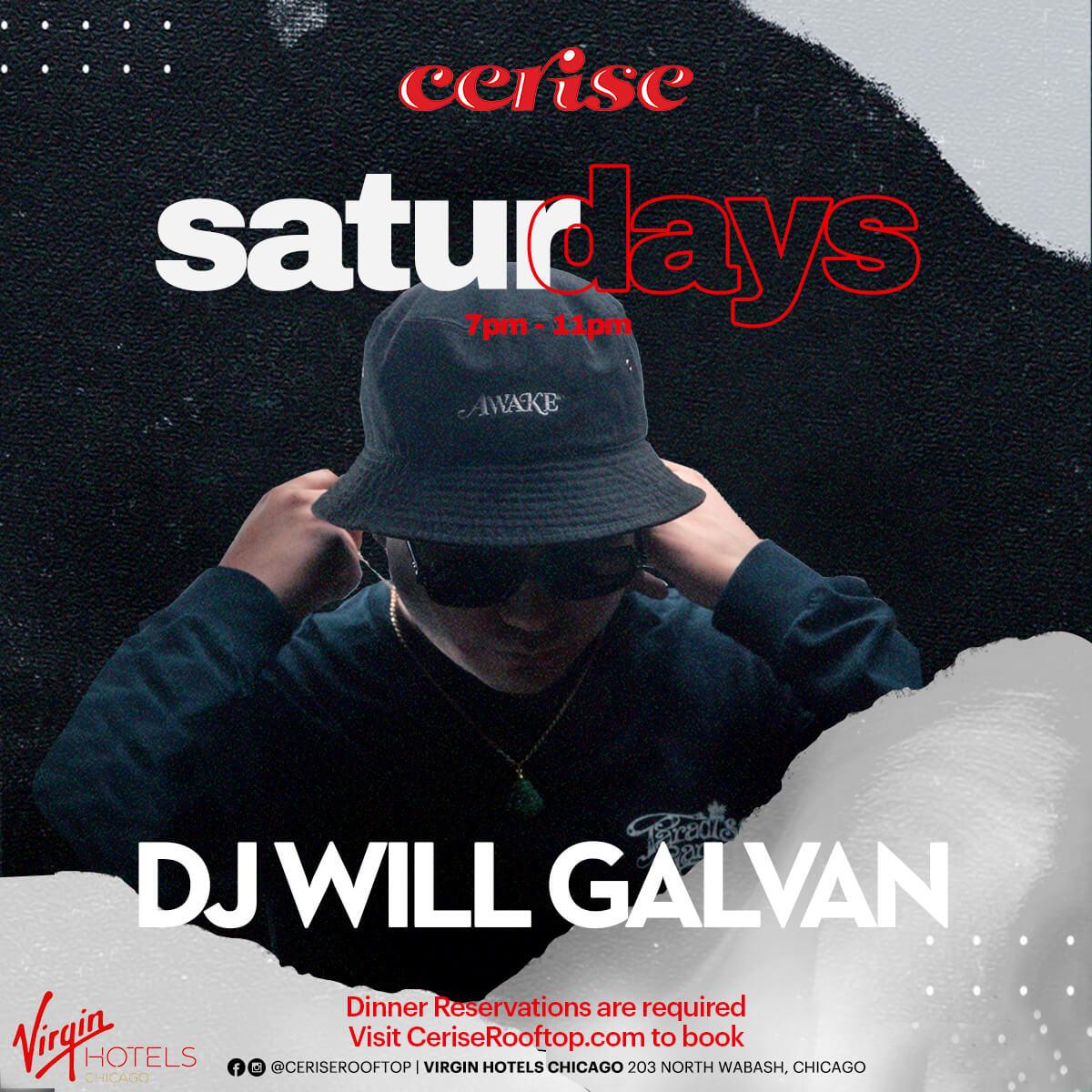 DJ Will Galvan at Cerise