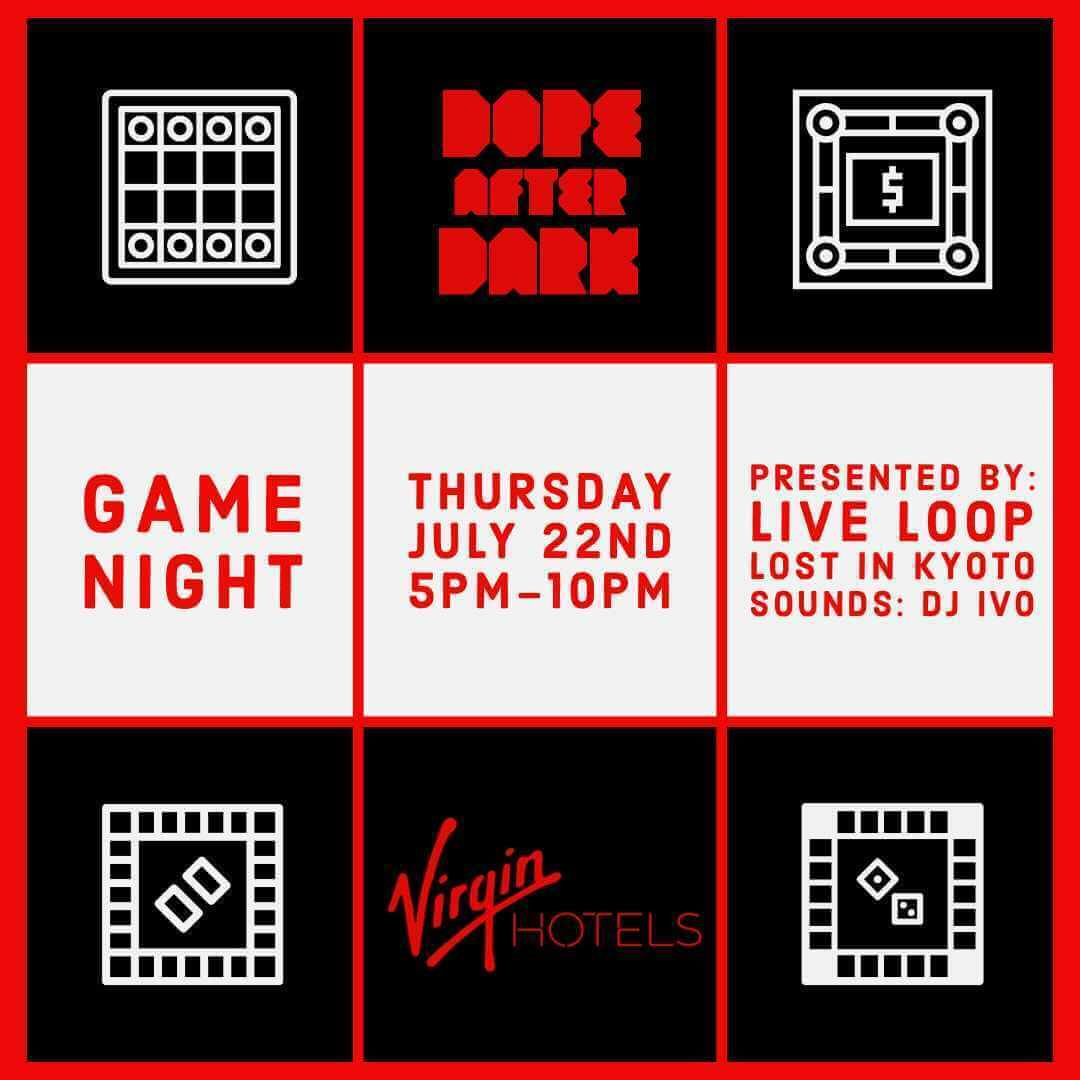 Game Night with Live Loop